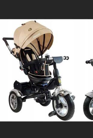 Rower Trójkołowy Lean Trike PRO600 Pompowane koła