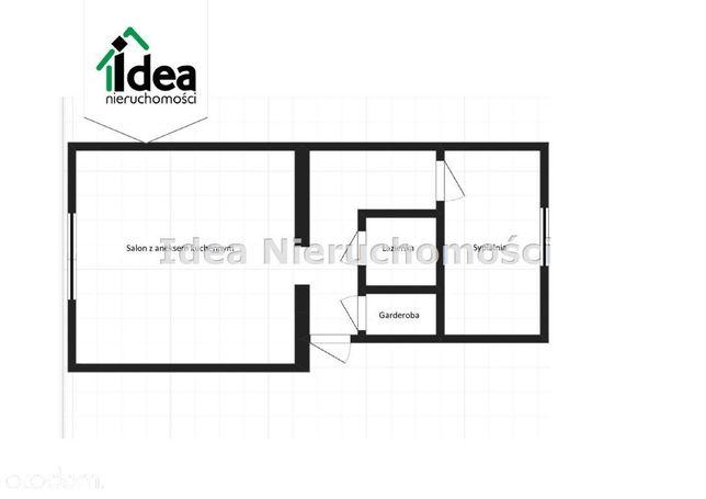 Mieszkanie 40,72 mkw, stan deweloperski