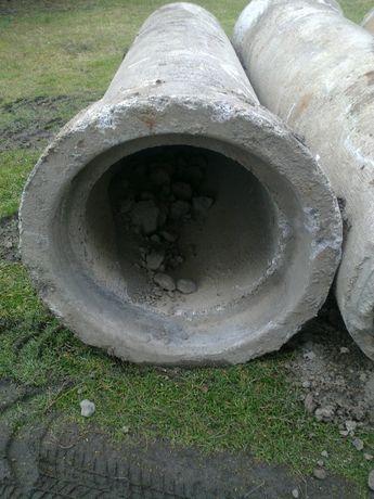 Rura prefabrykowana zbrojona na mostek średnica 50 cm,długosc 2,70 m