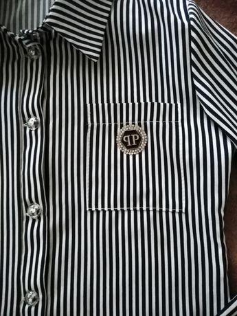 Рубашка в школу для девочки