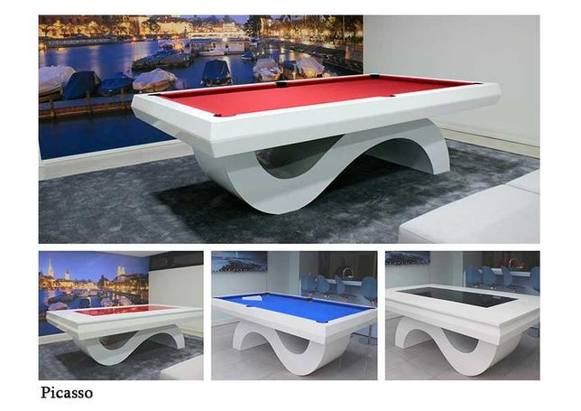 Bilhares Capital - Mesa Snooker Picasso com tampo jantar