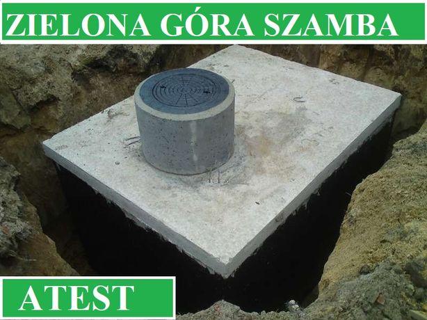 Szamba betonowe na ścieki 12m3 szambo zbiornik zbiorniki 4m3 - 12m3