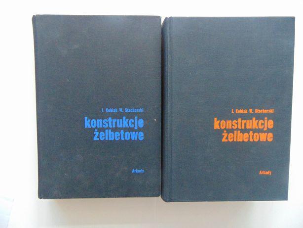 Konstrukcje żelbetowe cz. 1 i 2 J.Kobiek W Stachurski