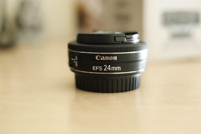 Canon 24mm EF-S f/2.8 STM (de 2020)