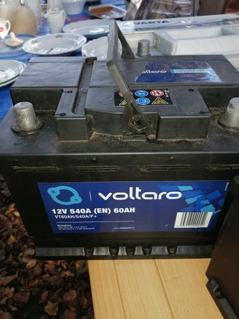 Sprzedam sprawnny akumulator VOLTARO 12v60ah540aen