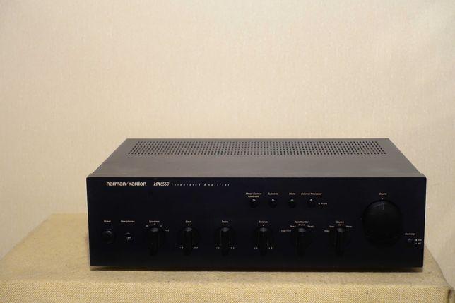 Музыкальный усилитель премиум класса HARMAN KARDON HK-6550 (2х85Вт/9кг