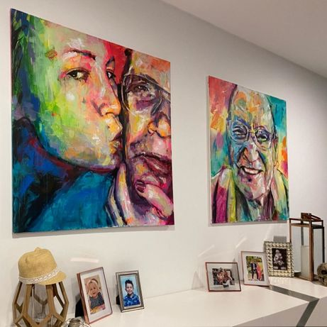 Pintura de Retratos Artísticos * LOWCOST * Receba em Casa!