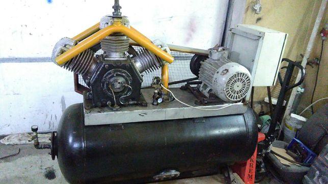 Kompresor Van Aw 400l.zamiana na mniejszą