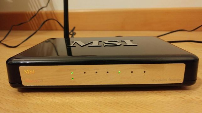 Router Wireless MSI RG54G3