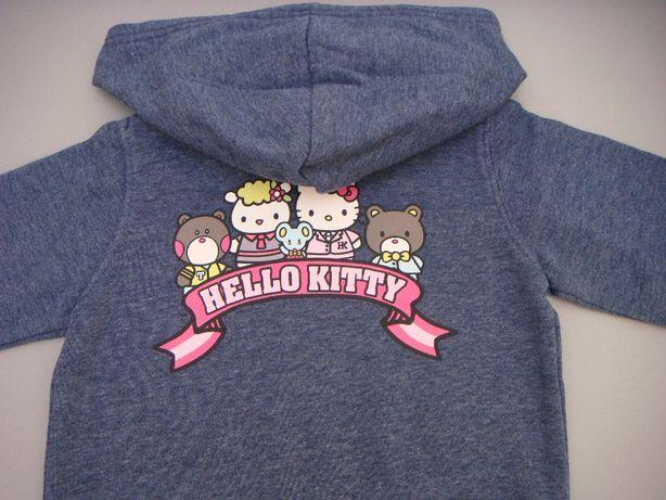 bluza z kapturem Hello Kitty H&M / kurtka / sweter roz. 92