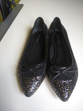 Baleriny pantofle wittchen 37 nowe 80zł