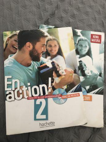 Podręcznik do francuskiego en action 2