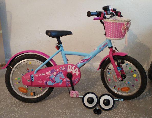 """Rowerek dziecięcy """"BTWIN""""- koła 16'"""