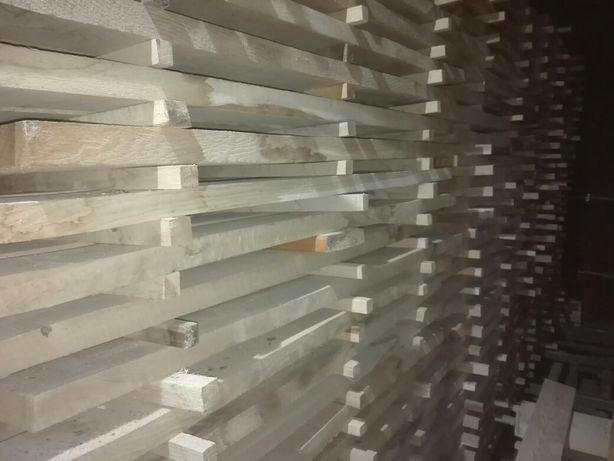 Fryzy debowe po suszarni 1.25m x 9cm x3.5cm