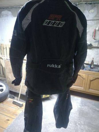 Komplet motocyklowy zestaw kurtka motocyklowa spodnie Rukka APR XXL