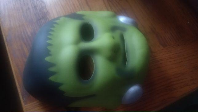 детская маска на лицо монстр типа пена