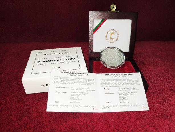 Moeda Comemorativa INCM 1000 Escudos 2000