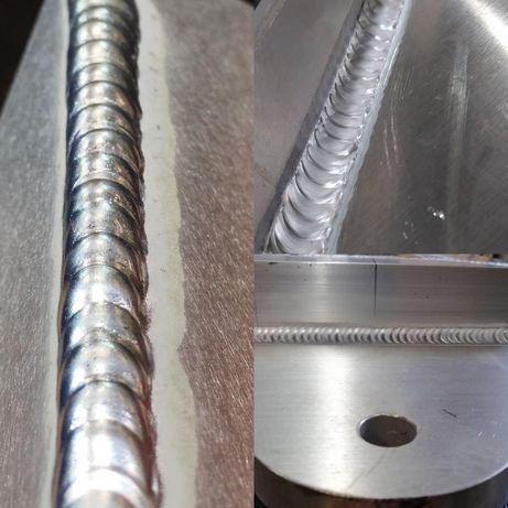 Spawanie stali nierdzewnej, aluminium, konstrukcje stalowe, mobilne