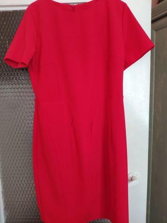 Sukienka czerwona roz 42