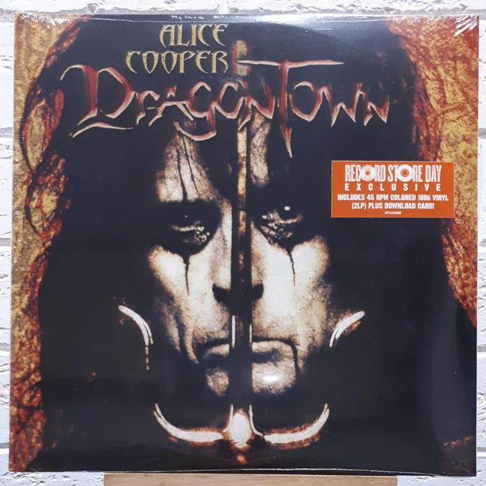 ALICE COOPER – Dragontown - 2xLP - 45 RPM - Orange Vinyl '2001/2019 Одесса - изображение 1