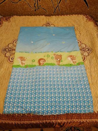 Детское одеяло + подушка в подарок