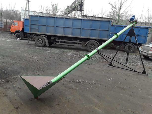 Шнековый погрузчик конвейер транспортер для зерна (зернопогрузчик)