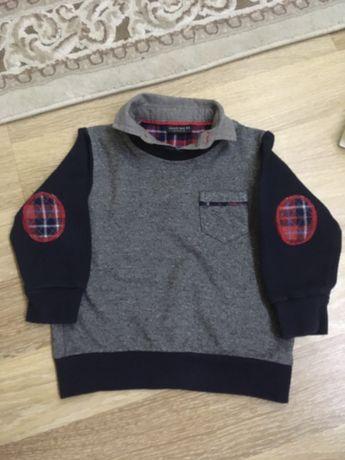 Реглан обманка поло кофта свитер свитерок кофточка нарядная