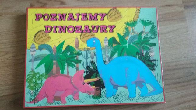 gra Poznajemy Dinozaury