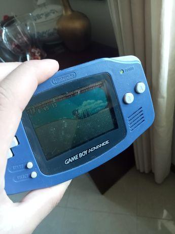 Gameboy Advance a funcionar