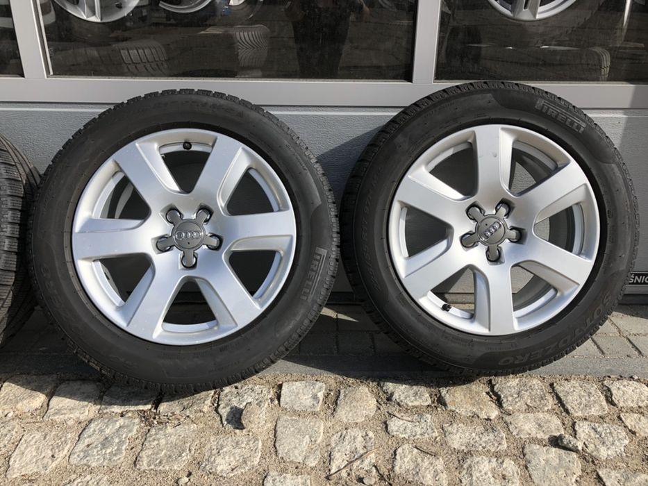 """"""" Alufelgi 5x112 AUDI A6 A5 A4 A3 A7 A8 + opony Pirelli 225/55r17 Wałbrzych - image 1"""
