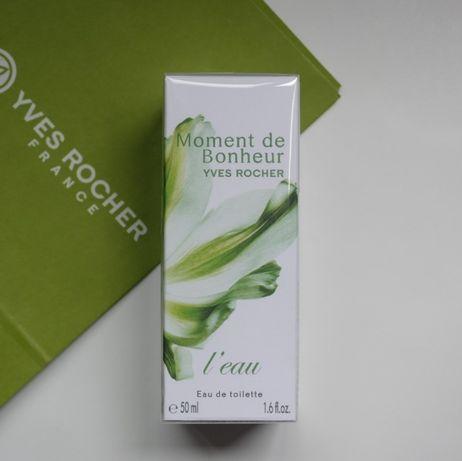 Туалетная вода Moment de Bonheur l´Eau Yves Rocher 50мл духи Ив Роше