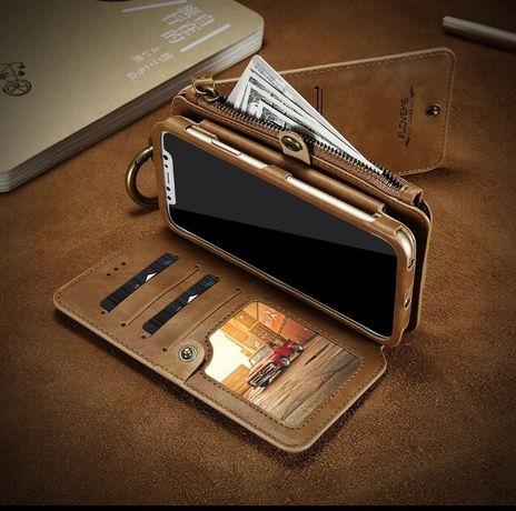 Carteira em couro - Iphone 5, 5S, 5SE
