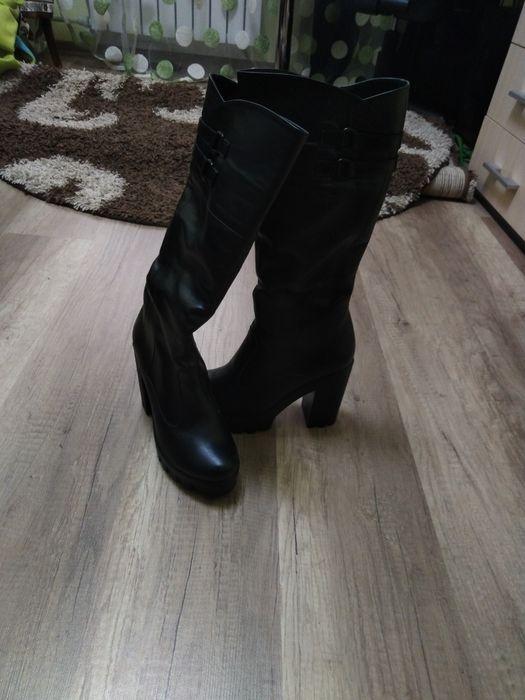 Зимові шкіряні чоботи на цегейці Ивано-Франковск - изображение 1