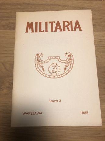 Militaria - Zeszyt 3 z 1985 roku