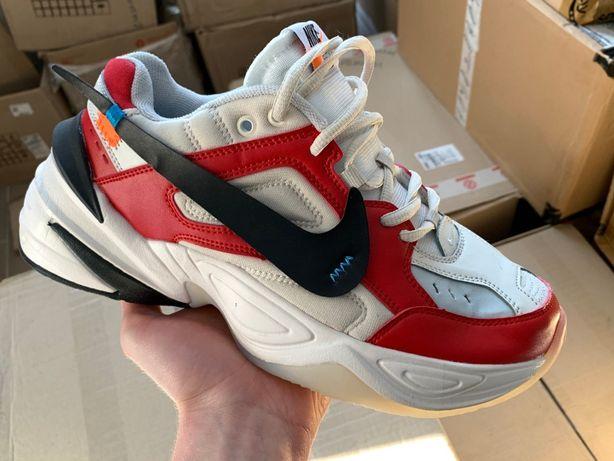 Мужские кроссовки Off-White x Nike M2k Tekno Air Monarch (5 цветов)ТОП
