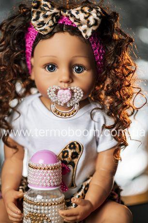 АКЦИЯ! Кукла reborn 55 см Реборн силиконовая куклы для девочек большие