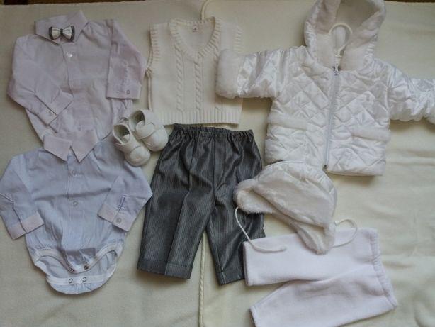 Chrzest ubranko dla chłopca rozm 68