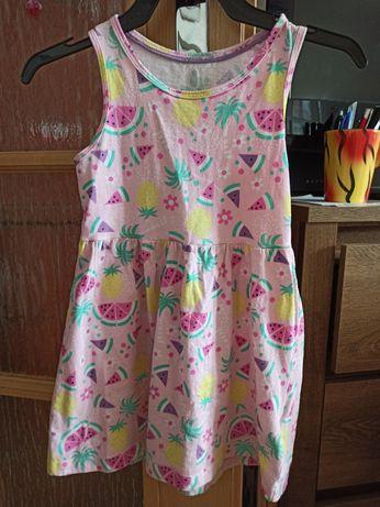 Sukienka w owoce 98/104