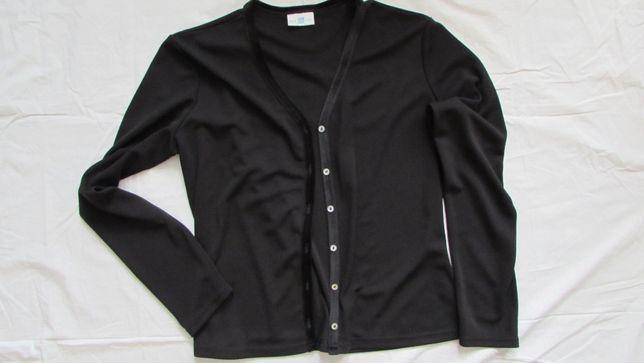 Sweter rozpinany NEW LOOK L nowy czarny narzutka