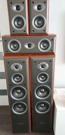 Kolumny M-Audio HTS-800 5 szt.STAN IDEALNY!, mozliwy zakup zestawu