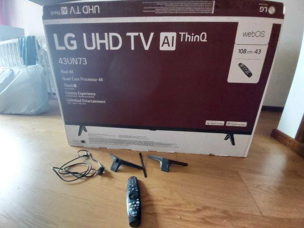 Tv LG 4K  43 com garantia