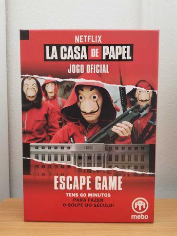 "Jogo ""La Casa de Papel"" Escape Game"
