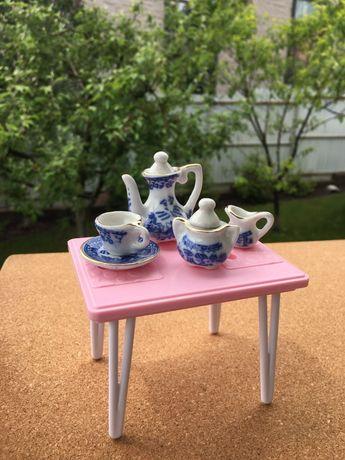 Фарфоровая посуда для кукол,детская посуда