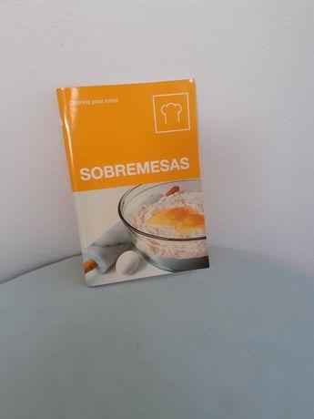 Sobremesas - Cozinha para todos (livro novo)