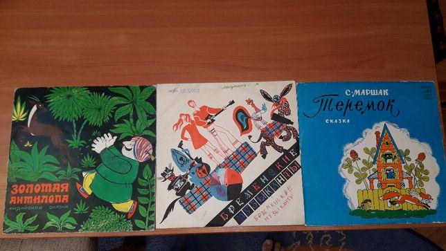 Вінілові пластинки платівки грампластинки радянські Мелодія