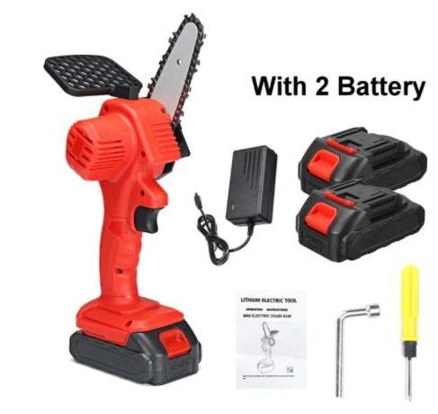 Mini serra eletrica 88v 1080W com 2 baterias
