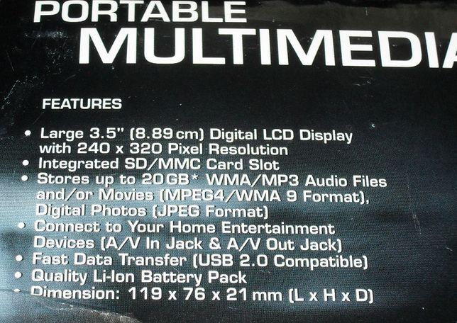 Multimedialny odtwarzacz przenośny MD95639 / MDVID220