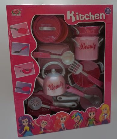 Kitchen zestaw naczynek dla dzieci