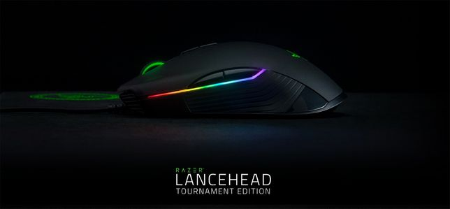 Игровая мышь Razer Lancehead Tournament Edition Black 16000 dpi
