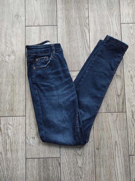 Ciemne jeansy Pull&Bear